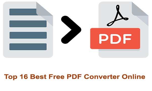 Best Free PDF Converter Online