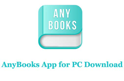 AnyBooks App for PC Download
