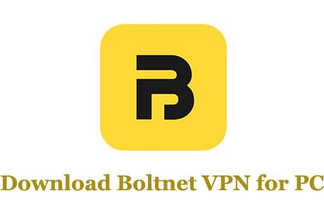 Boltnet VPN for PC