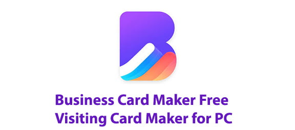 Business Card Maker Free Visiting Card Maker for PC