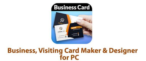 Business, Visiting Card Maker & Designer for PC