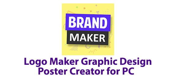 Logo Maker Graphic Design Poster Creator for PC