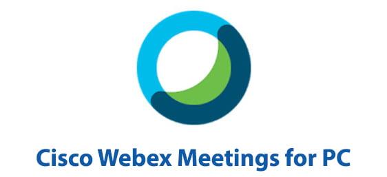 Cisco Webex Meetings for PC