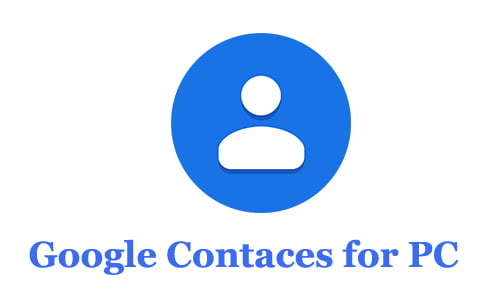 Google Contacts for PC