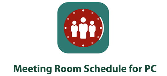 Meeting Room Schedule app for PC