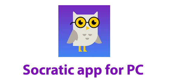 Socratic app for PC