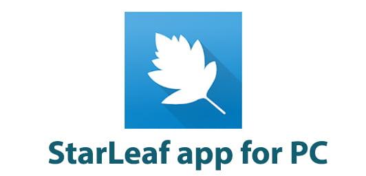 StarLeaf app for PC
