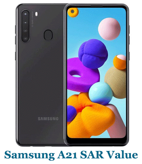 Samsung A21 SAR Value (Head and Body)