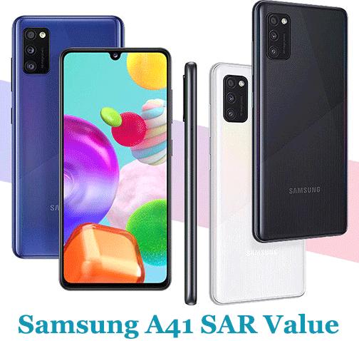 Samsung A41 SAR Value (Head and Body)