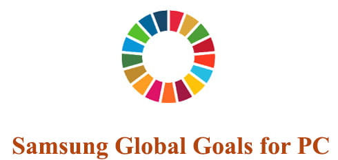 Samsung Global Goals for PC