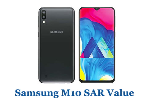 Samsung M10 SAR Value