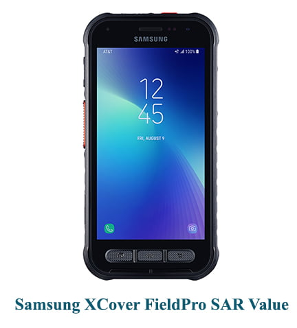 Samsung XCover FieldPro SAR Value (Head and Body)