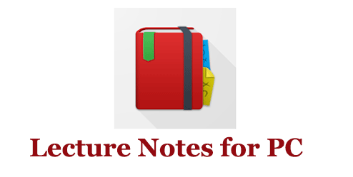 Lecture Notes for PC (Windows and Mac)