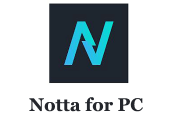 Notta app for PC