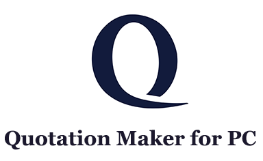 Quotation Maker for PC