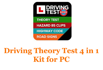Driving Theory Test 4 in 1 Kit for PC (Windows and Mac)