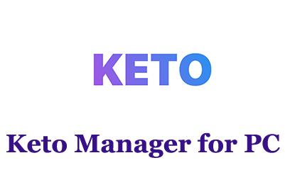 Keto Manager for PC