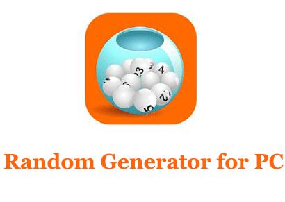 Random Generator for PC (Windows and Mac)
