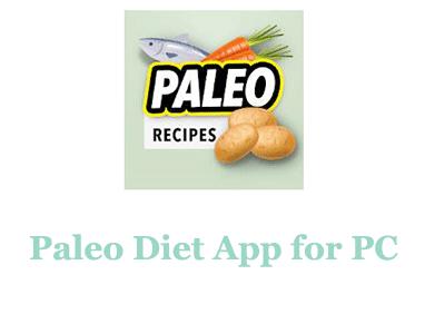 Paleo diet App for PC