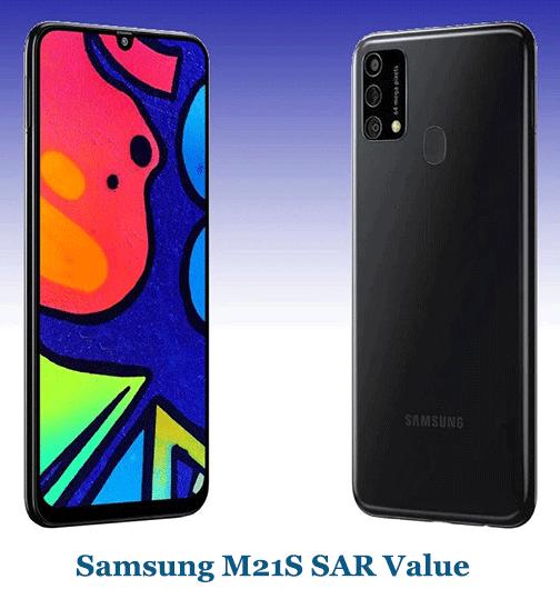 Samsung M21S SAR Value