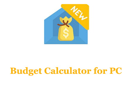 Budget Calculator for PC